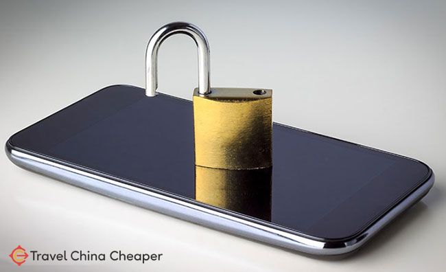 Your mobile phone needs to be unlocked to use it in China