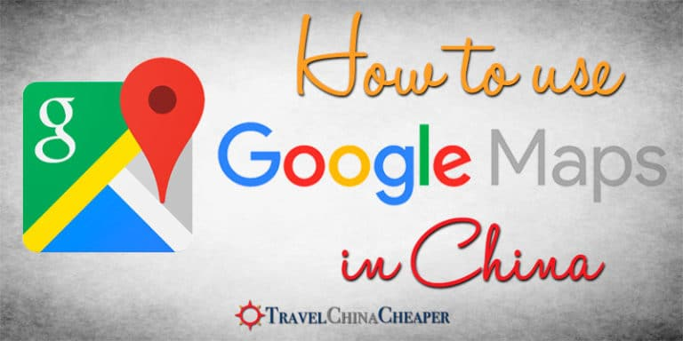How to Use Google Maps in China (plus the best Google Maps Alternatives)