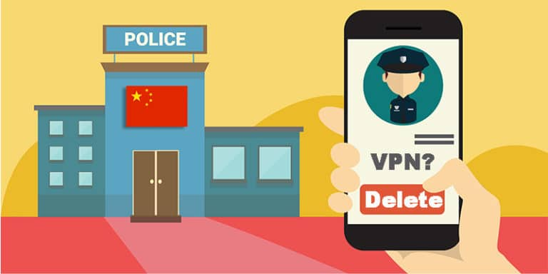 Chinese police ask me to delete the VPN on my phone