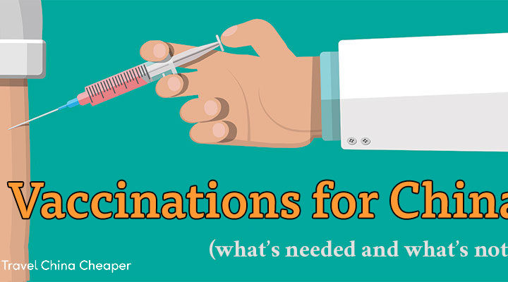 Recommended Vaccinations for China