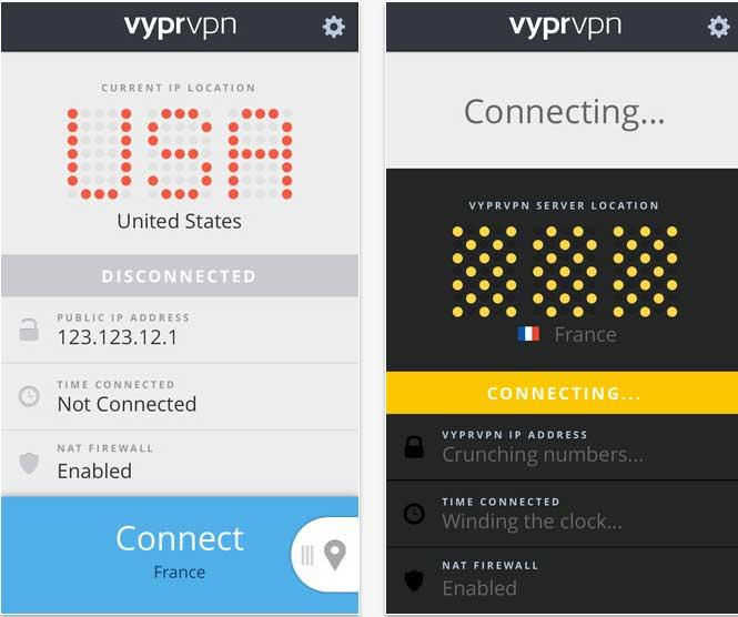 A look at the VyprVPN mobile app