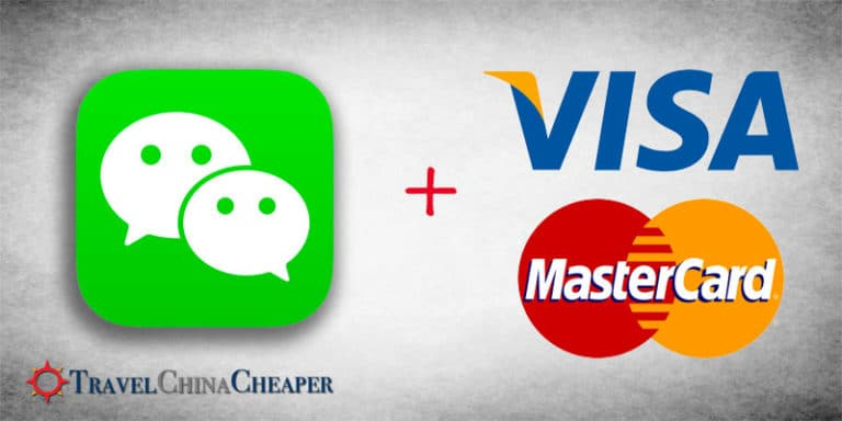 How to add a foreign credit card to WeChat Pay in China