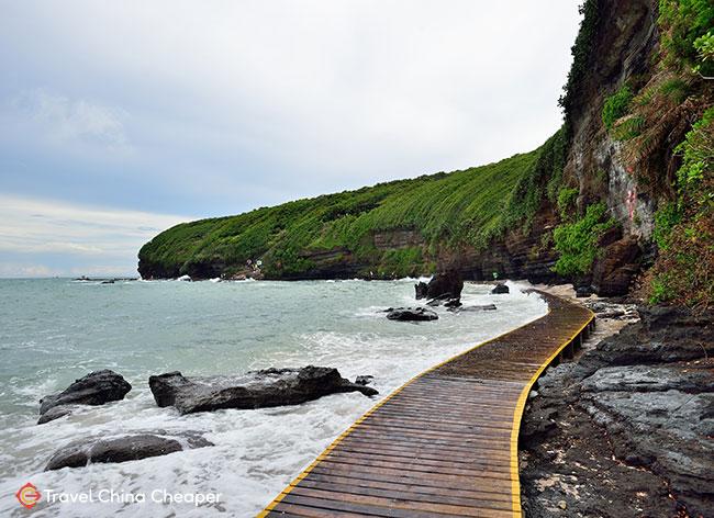 The WeiZhou Island (涠洲岛) off the coast of Beihai, China, which has some beautiful China beaches.