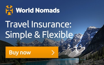 Get a travel insurance quote from World Nomads today