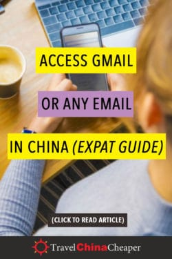 Access Gmail in China expat guide
