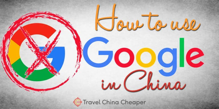 How to use Google in China when all of the Google services are blocked.