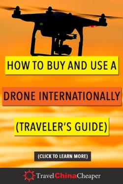 Save this article about the best drones for travelers on Pinterest