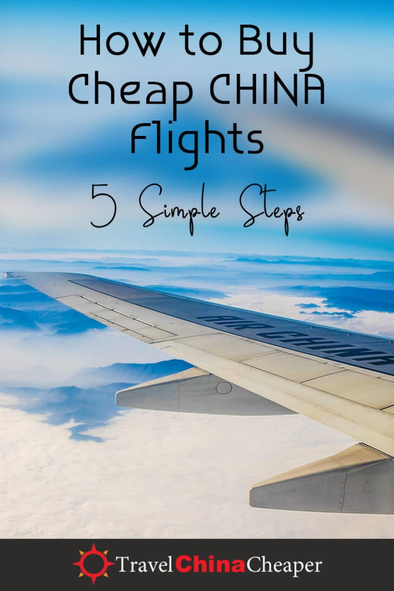 Are you searching for cheap China flights to purchase? Whether you're looking for cheap international flights to China or cheap domestic flights to China, it can often feel impossible to get a good deal. If you follow these simple steps, however, you'll be shocked at the kind of deals you can find on Chinese airfare! | Travel China Cheaper | China Travel Guide | Buy Cheap China Flights | Expat in China | China Travel Blogger | Asia Travel Guide #China #chinatravel #travelChina