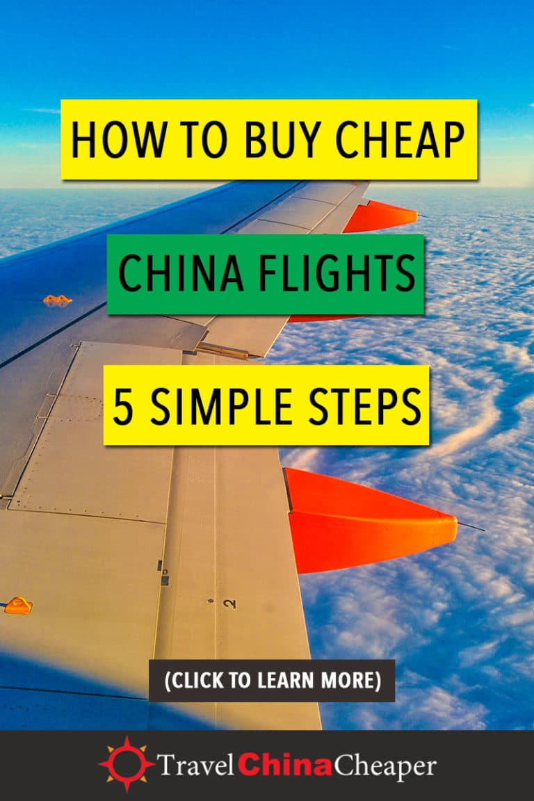 Having had enough of spending so much hard earned money on overpriced airfare, I decided to finally figure out how to find good deals on China flight tickets. Fortunately, there are plenty of creative ways to save on airline travel in China. Click to learn more! | Travel China Cheaper | China Travel Guide | Buy Cheap China Flights | Expat in China | China Travel Blogger | Asia Travel Guide #China #chinatravel #travelChina