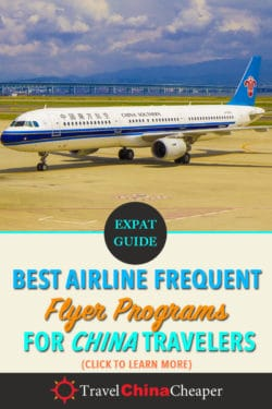 Save this article about the best airline frequent flyer programs for China on Pinterest.