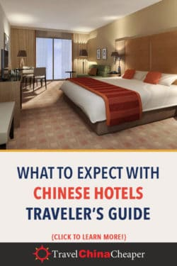 Save this article about China hotels on Pinterest
