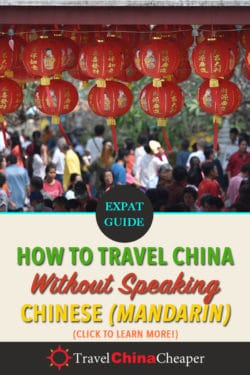 Pin this image about traveling to China without speaking Chinese on Pinterest