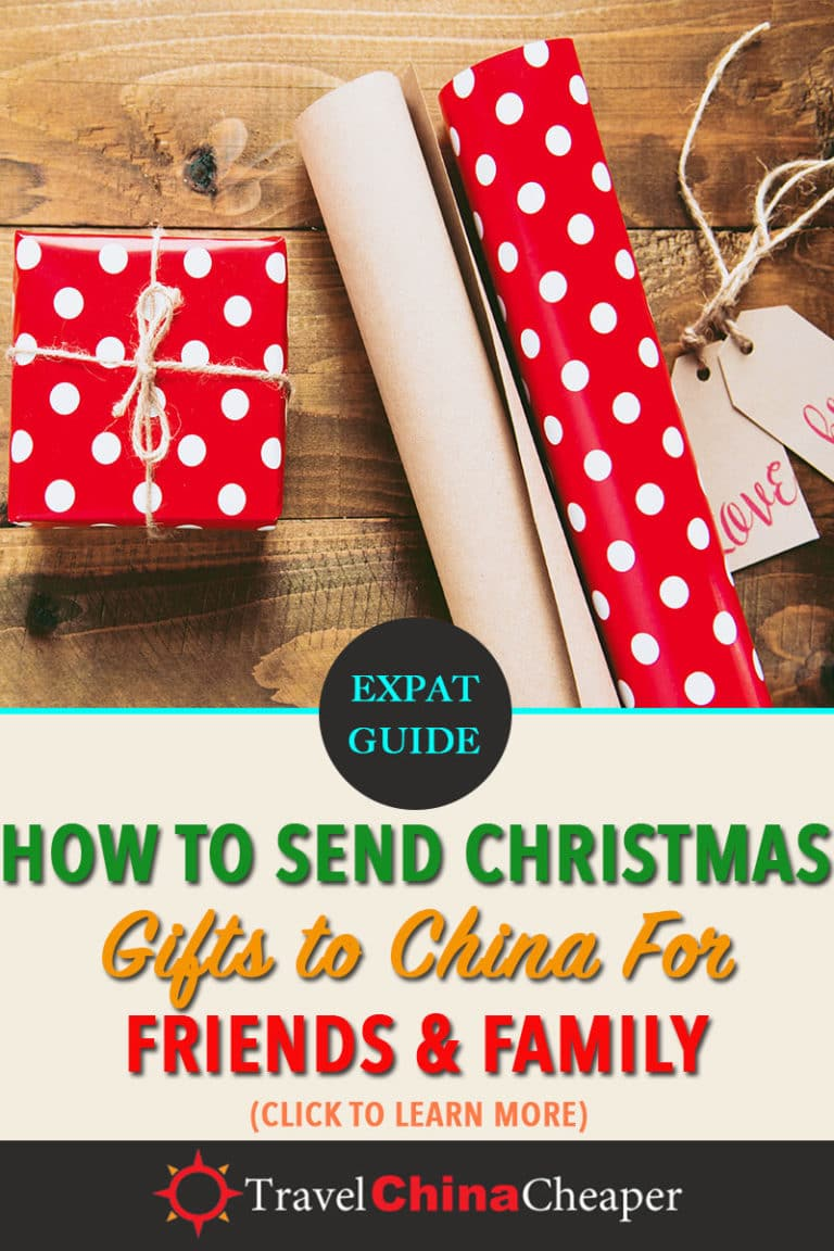 Do you have friends or family living in China? This guide will provide you with the best ways to send a Christmas gift to China. Click to learn more! | Travel China Cheaper | China Travel Guide | Send Christmas Gift to China | Expat in China | China Travel Blogger | Asia Travel Guide #China #chinatravel #travelChina #expatinchina #chinaexpat