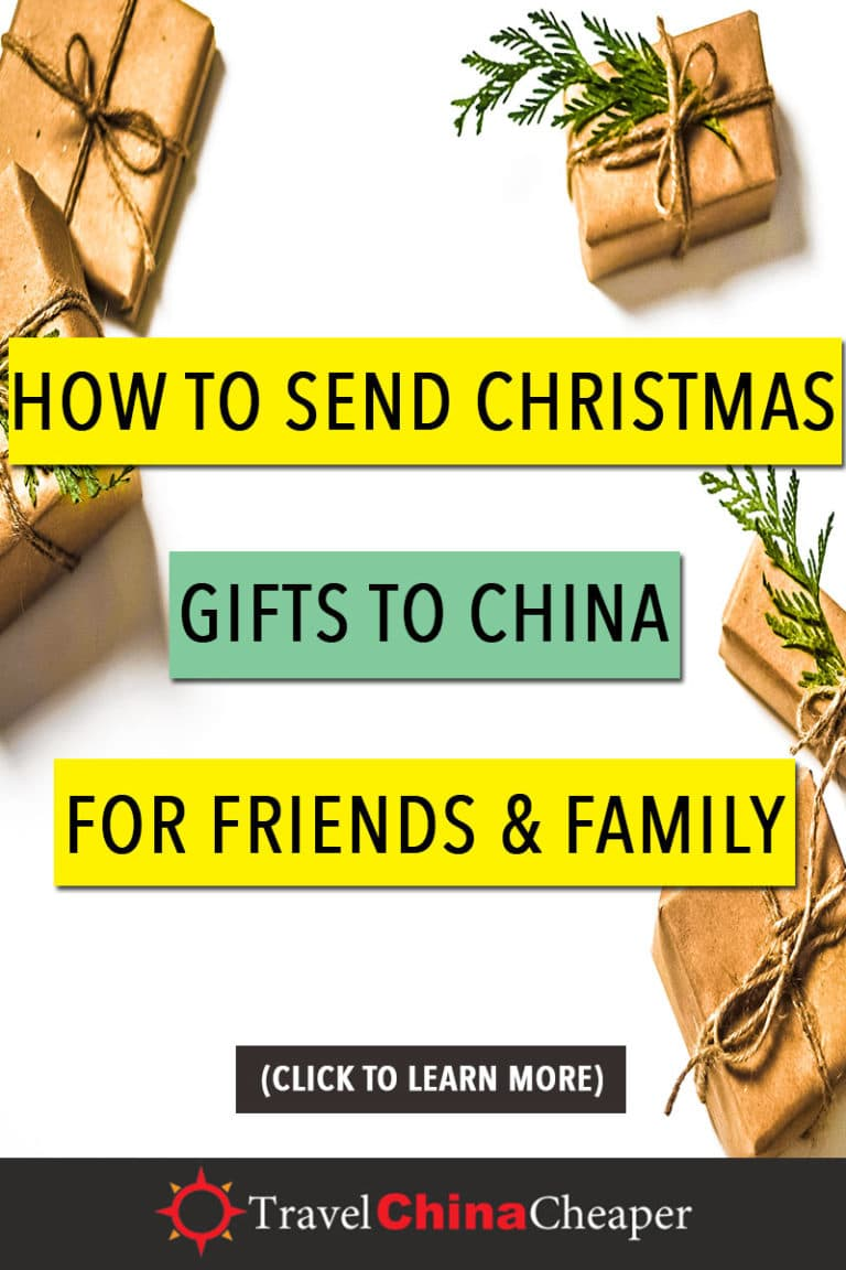 There are a number of different ways that you can send a Christmas gift to China from anywhere in the world. Your decision will depend on the amount of time you have and how much money you're willing to spend. Click to learn more! | Travel China Cheaper | China Travel Guide | Send Christmas Gift to China | Expat in China | China Travel Blogger | Asia Travel Guide #China #chinatravel #travelChina #expatinchina #chinaexpat