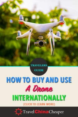 Save this article about traveling with drones on Pinterest!