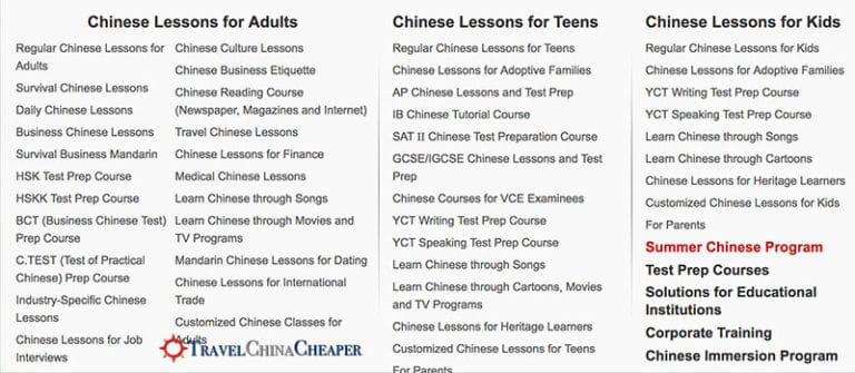 A look at the eChineseLearning curriculum