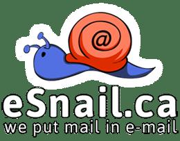 eSnail Mail, a Canadian virtual mailbox service