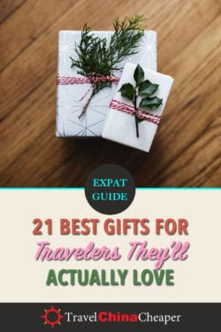 Save this article about the best gifts for travelers that they'll love on Pinterest
