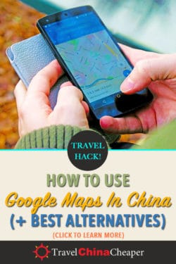 How to use Google Maps in China