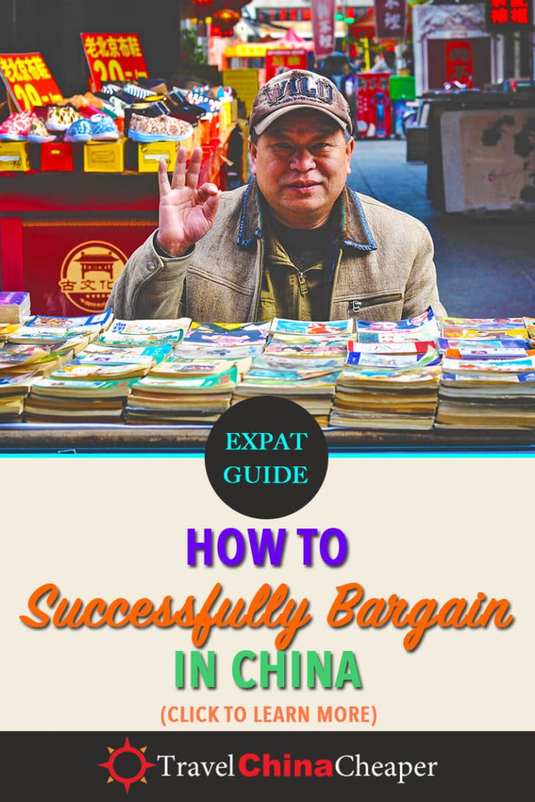 Bargaining in China is a necessary part of life in China. This guide will teach you the rules of bargaining in China. Click to learn more! Travel China Cheaper | China Travel Guide | Bargaining in China | Haggling in China | Negotiating in China | Expat in China #China #TravelChina #ChinaTravelGuide