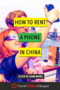 How to rent a phone in China - save this!