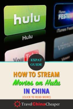 Stream Hulu in China - Pin this image!