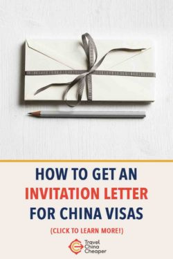 Save this article about getting an invitation letter for a Chinese visa on Pinterest