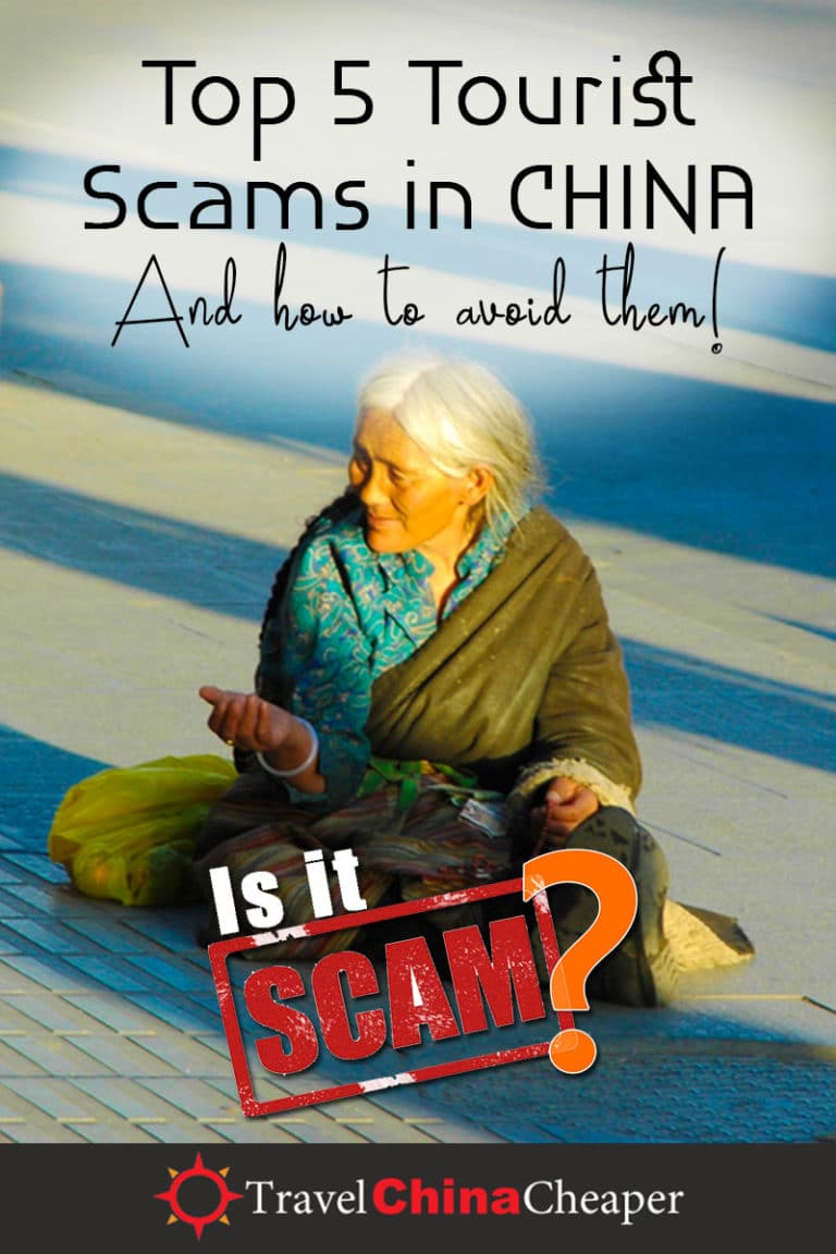 Nothing is worse than being scammed or stolen from while traveling. Thankfully, if you're properly prepared, it's fairly easy to dodge these common scams in China. Click to read more! | Travel China Cheaper | Tourist Scams in China | China travel guide | Expat in China | Avoid Tourist Scams in China | Asia Travel Guide #China #Chinatravelguide #AsiaTravelguide