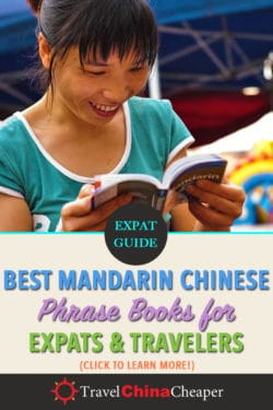 Save this article about the best mandarin Chinese phrasebook on Pinterest!