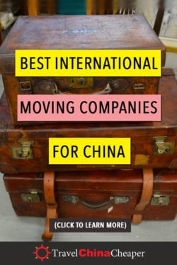 Best international moving companies for China