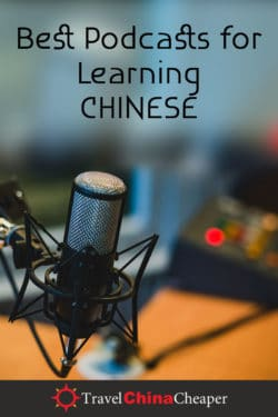Best podcasts for learning Chinese in 2021. Pin this image!