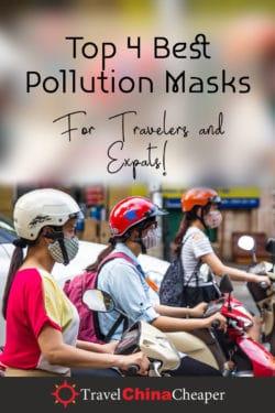 Masques de pollution: Épinglez cette image!