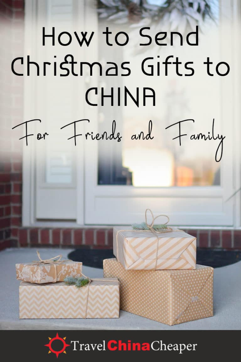 Christmas is around the corner, and whether you have an expat loved one who lives in China or you want to send your Chinese friend a gift, it sometimes feels a bit overwhelming. How can you send a Christmas gift to China? This helpful guide will walk you through your different options. | Travel China Cheaper | China Travel Guide | Send Christmas Gift to China | Expat in China | China Travel Blogger | Asia Travel Guide #China #chinatravel #travelChina #expatinchina #chinaexpat