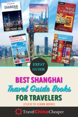 Save this article about the best travel guide books for Shanghai on Pinterest!