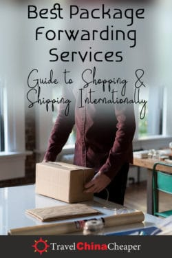 Pin this image about the best international package forwarding servcices