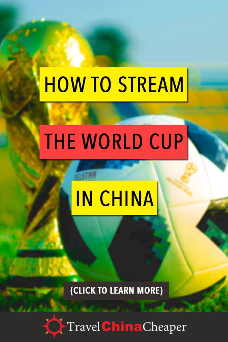 The way that you experience the 2018 FIFA World Cup in China depends very much on how you stream it. The broadcast of the games from the United States looks entirely different than the broadcast from Australia or the United Kingdom. | Travel China Cheaper | China Travel Guide | Watch The World Cup in China | Stream The World Cup in China | Expat in China | Asia Travel Guide #China #chinatravel #travelChina #expatinchina #WorldCup