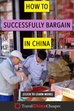 Save this image about haggling in China on Pinterest