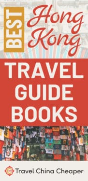 Save this image later on Pinterest! Best Hong Kong Travel Guide Books