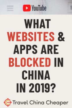 What Websites & Apps are Blocked in China? (Updated December