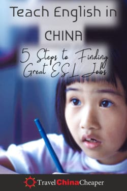 Save this article about how to teach English in China on Pinterest