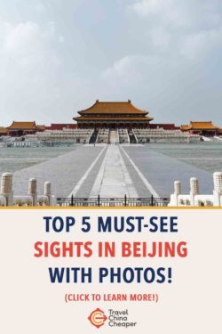 Save this article about the must see places in Beijing on Pinterest