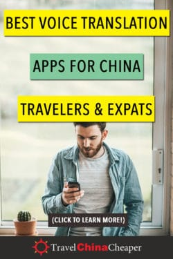 Translator apps for China travelers - pin this image!