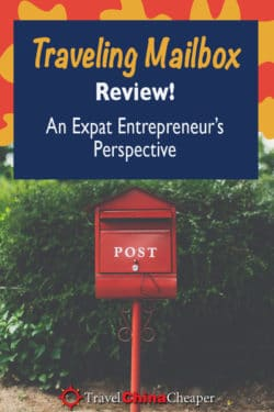 Save this Traveling Mailbox review on Pinterest!