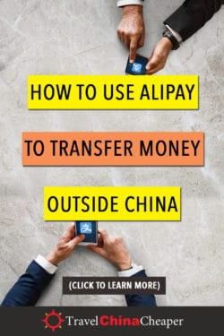 Save this article about transferring money with Alipay on Pinterest!