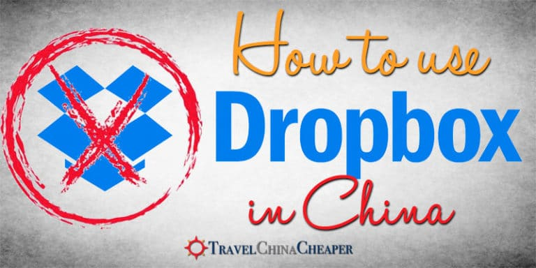 How to use Dropbox in China