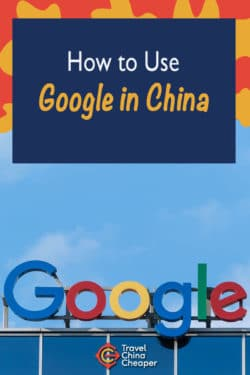 Pin this image about using Google in China on Pinterest!