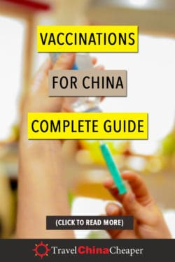 Pin this image about China vaccines for travelers