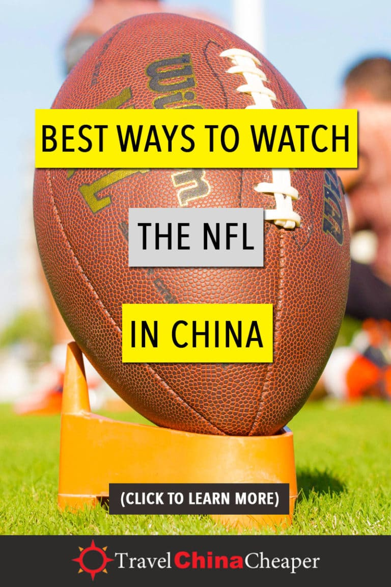 This guide will provide you with a list of the best ways to watch NFL football in China. Click to learn more! | Travel China Cheaper | China Travel Guide | Watch the NFL in China | Watch American Football in China | Watch American Sports in China | Expat in China | China Travel Blogger | Asia Travel Guide #China #chinatravel #travelChina #expatinchina #chinaexpat