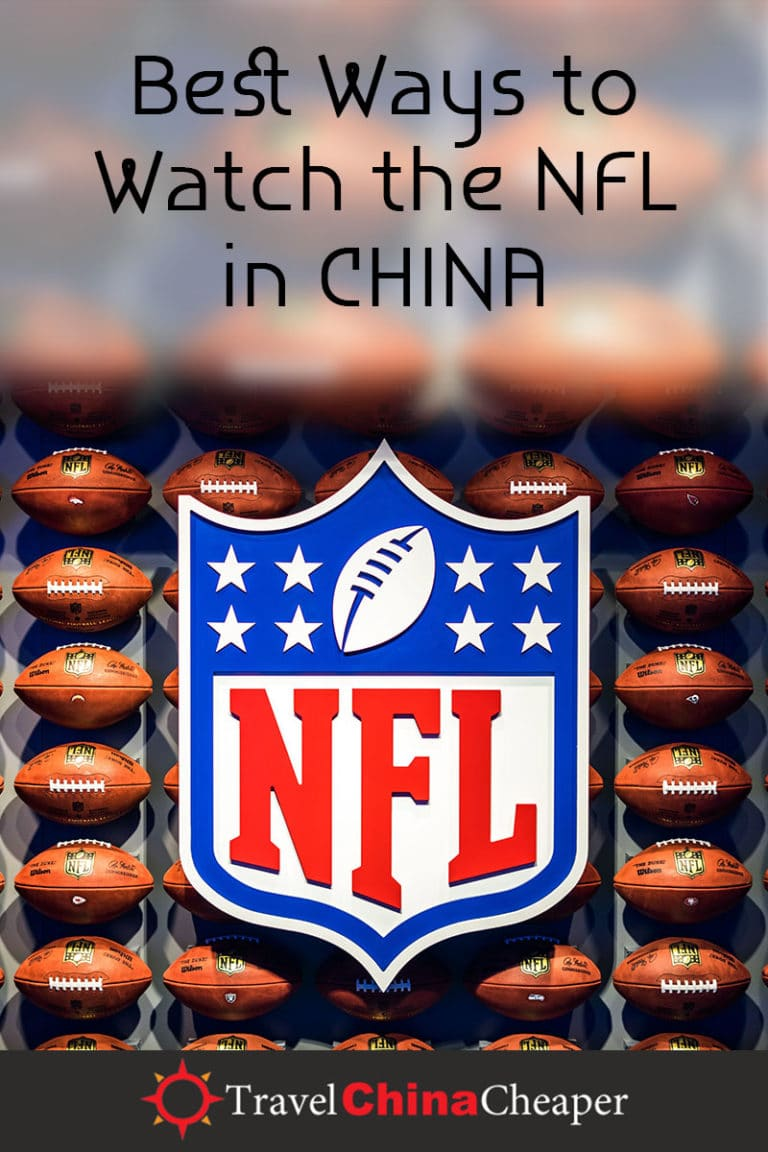 Tired of wasting time searching for live streams of NFL football games and college football games online? Wondering if there's a better way to watch a high-definition football game in China? Thankfully, there is. | Travel China Cheaper | China Travel Guide | Watch the NFL in China | Watch American Football in China | Watch American Sports in China | Expat in China | China Travel Blogger | Asia Travel Guide #China #chinatravel #travelChina #expatinchina #chinaexpat