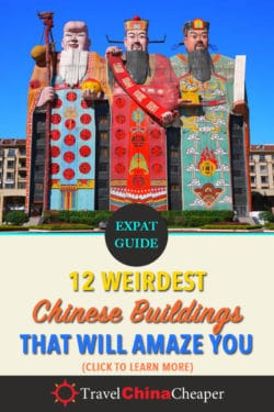 Save this article about weird Chinese buildings on Pinterest